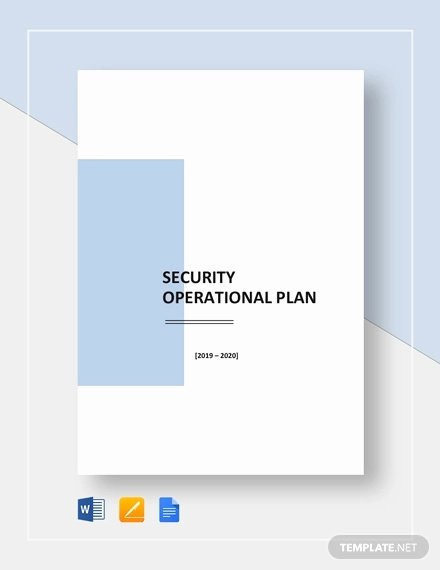Operational Plan Examples New 32 Operational Plan Templates Word Pdf Google Docs