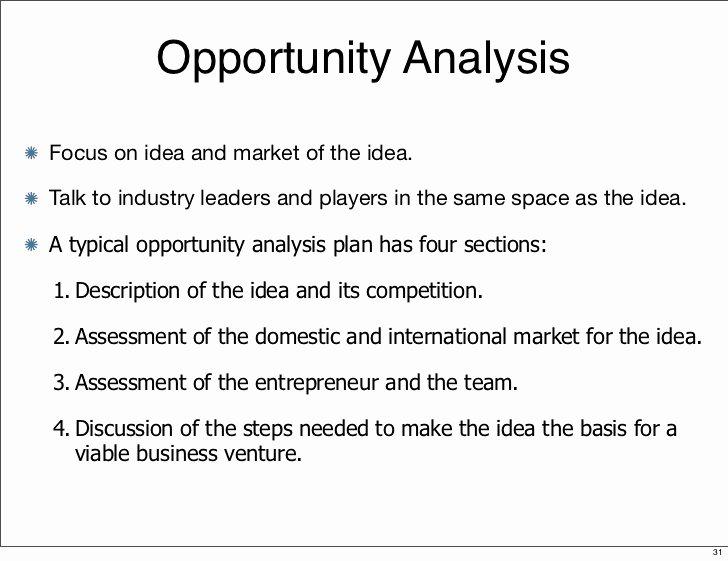 Opportunity Statement Examples Inspirational Entrepreneurship 1 Introduction Identifying Ides
