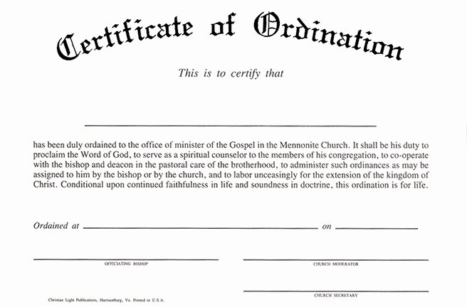Ordained Minister Certificate Template Elegant Taking the Week Off