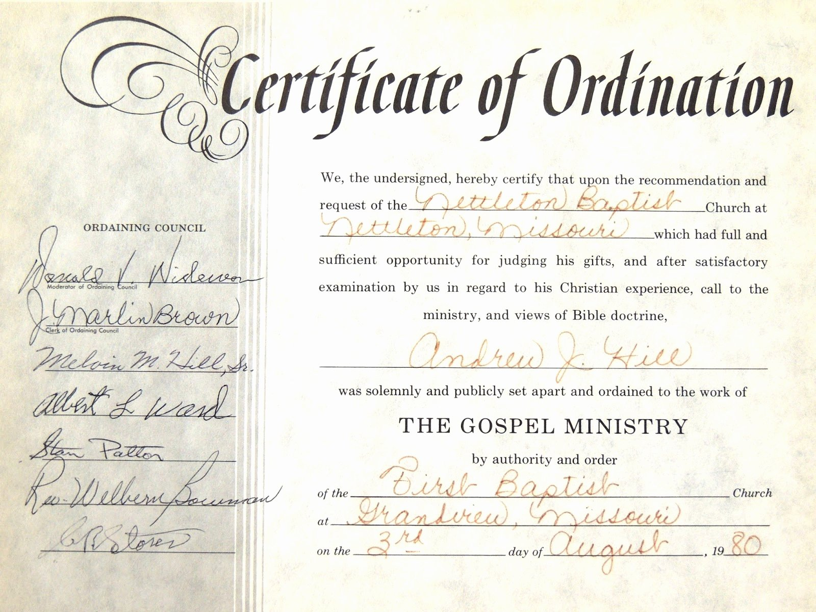 Ordained Minister Certificate Template Unique ordained Minister Certificate to Pin On Pinterest