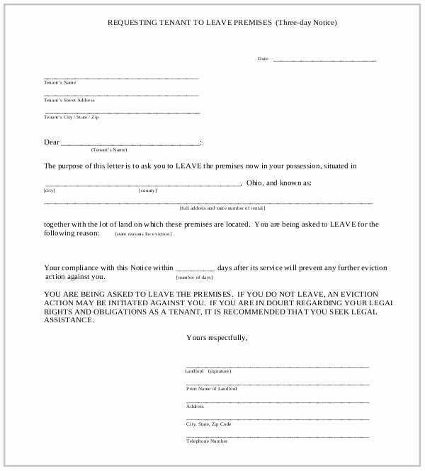 Oregon 30 Day Eviction Notice Template Elegant Eviction Notice forms Tario form Resume Examples