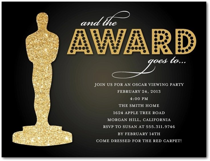 Oscar Award Trophy Template Awesome 17 Best Images About Oscar Party On Pinterest
