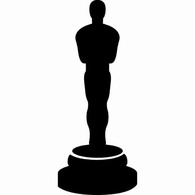 Oscar Award Trophy Template Awesome Oscars Movie Award Icons