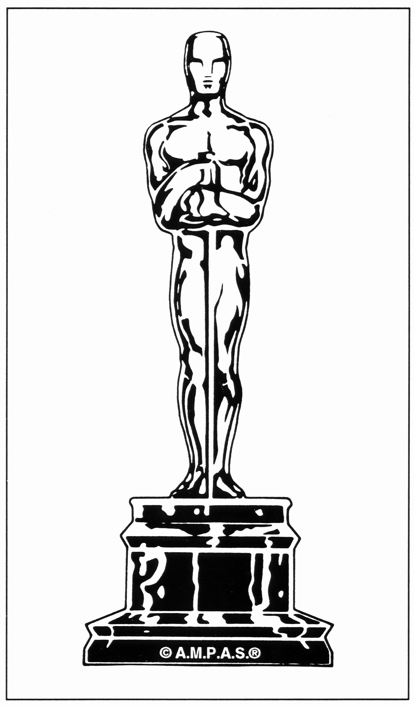 Oscar Award Trophy Template New Oscar Logo