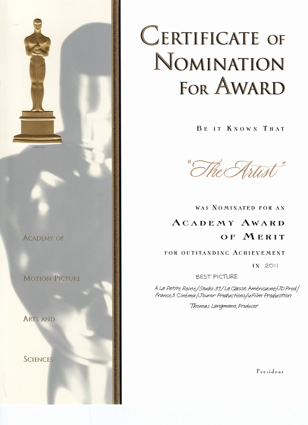 """Oscar Award Trophy Template New Search Results for """"oscar Award Template Cut Out"""