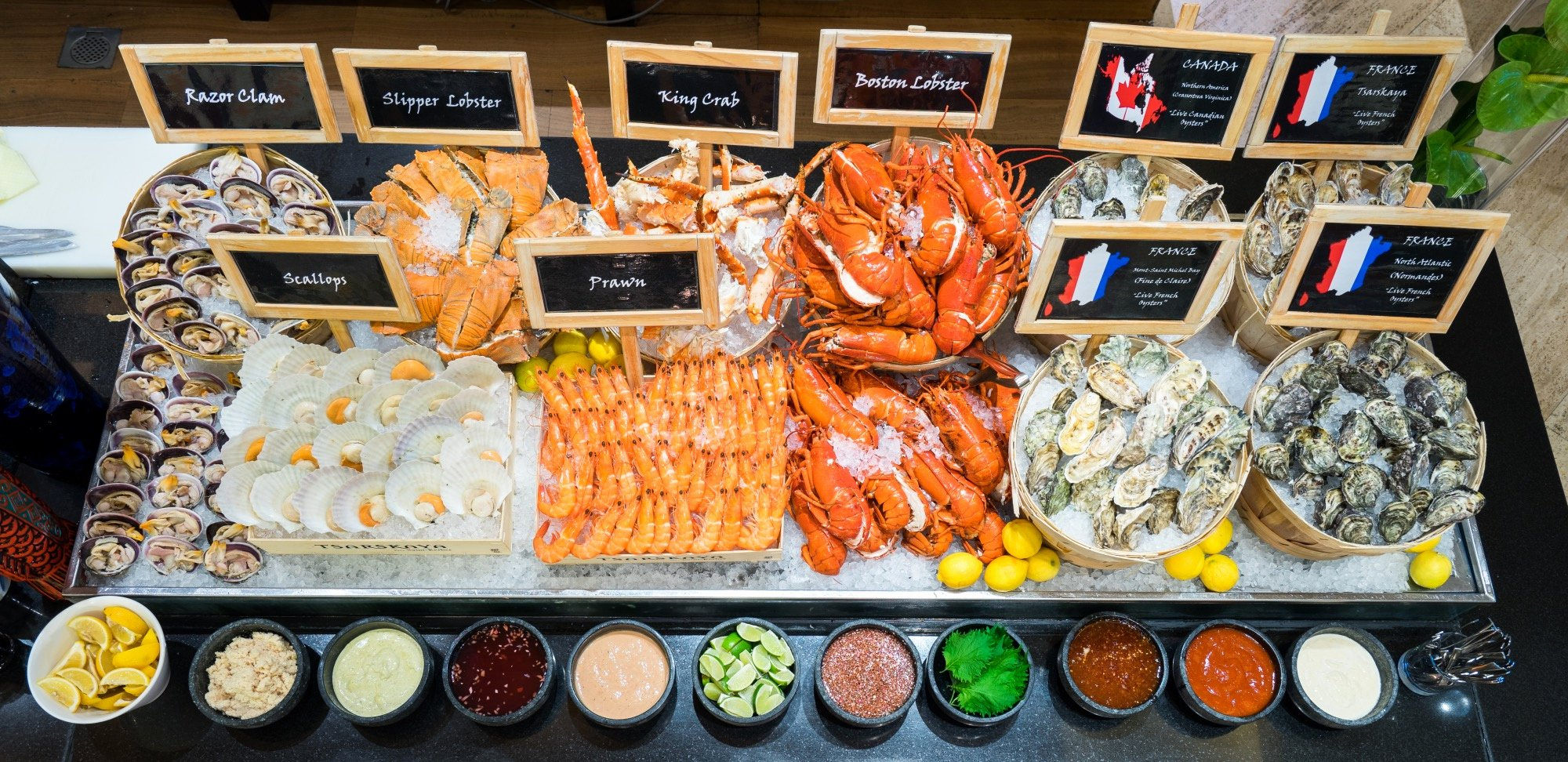 Oscars Hotel Online Free Luxury where to Find the Best Seafood Buffets In Singapore