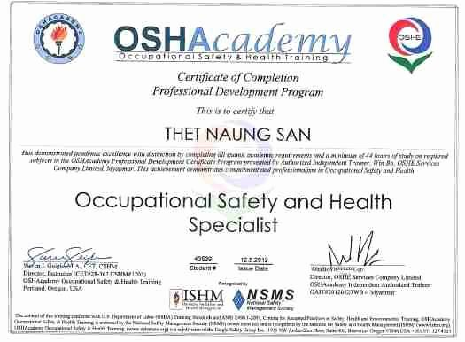 Osha Training Certificate Template Beautiful 21 Of Osha Training Card Template for Contruction