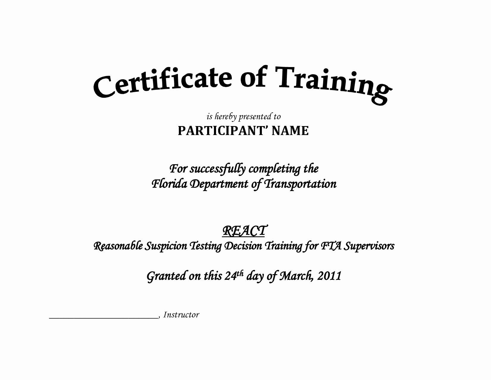 Osha Training Certificate Template Unique Creat Letterhead Template Shop Free Download New
