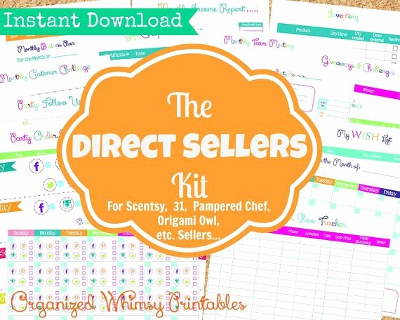 Pampered Chef Gift Certificate Template Beautiful Instant Download 19 Editable Pdf Documents the Direct