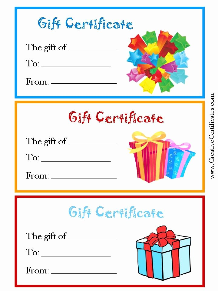 Pampered Chef Gift Certificate Template Luxury 29 Of Free Printable Gift Certificate Template