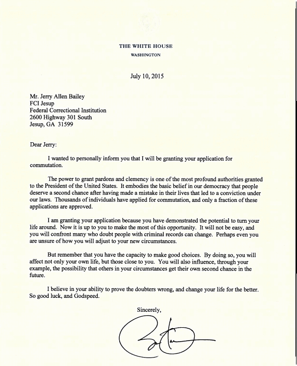 Pardon Letter Examples Best Of President Obama S Words to Prisoners He Just Helped are