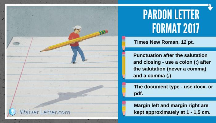 pardon letter