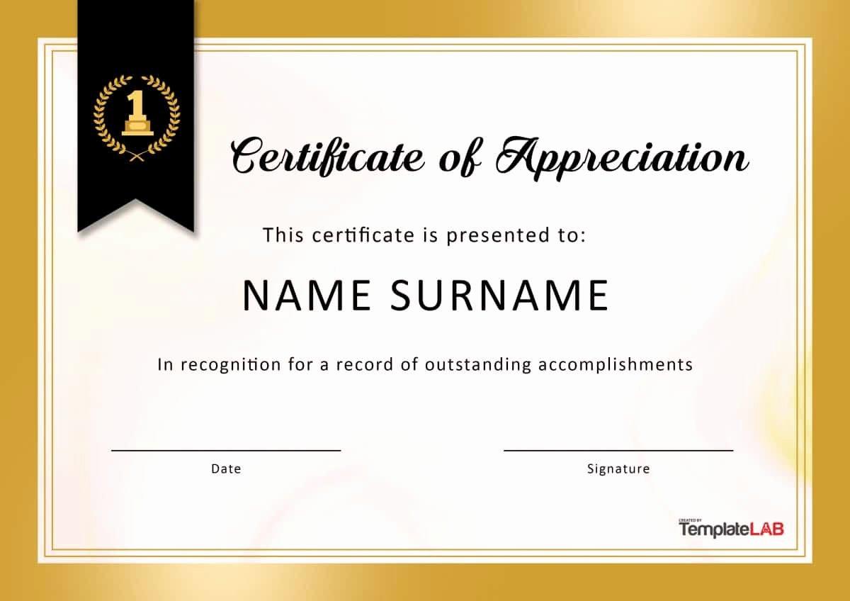 Pastor Appreciation Certificate Template Free New Sample Certificate Appreciation for Trainers