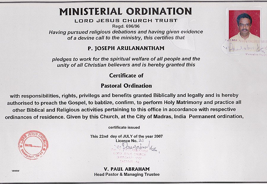 Pastor ordination Certificate Template Awesome Paralegal Certificate Cost Bigwebdirectory