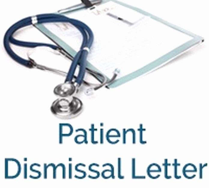 Patient Dismissal Letter Dental Fresh Patient Dismissal Letter Free Letters