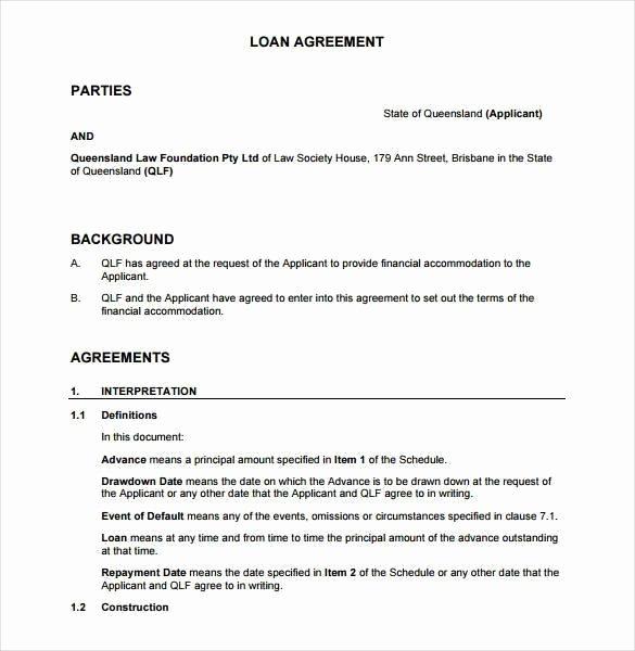 Payment Agreement Between Two Parties Elegant Agreement Between Two Parties for Money