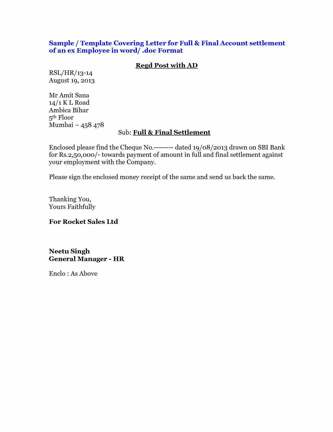 Payment Settlement Letter format Awesome Best S Of Employee Paid In Full form Template Paid