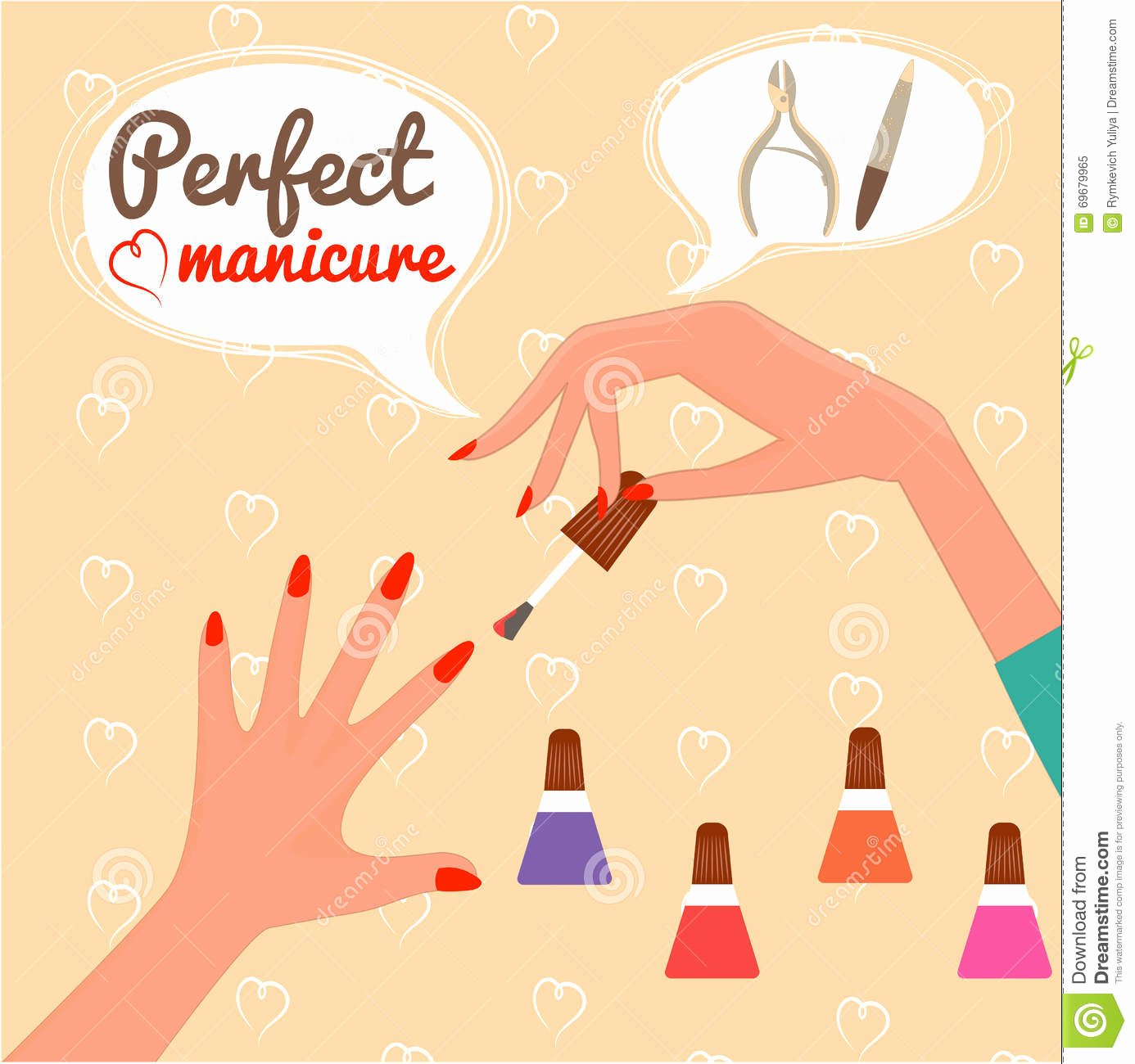 Pedicure Gift Certificate Template Best Of Perfect Manicure Beauty Concept Gift Certificate Glamur