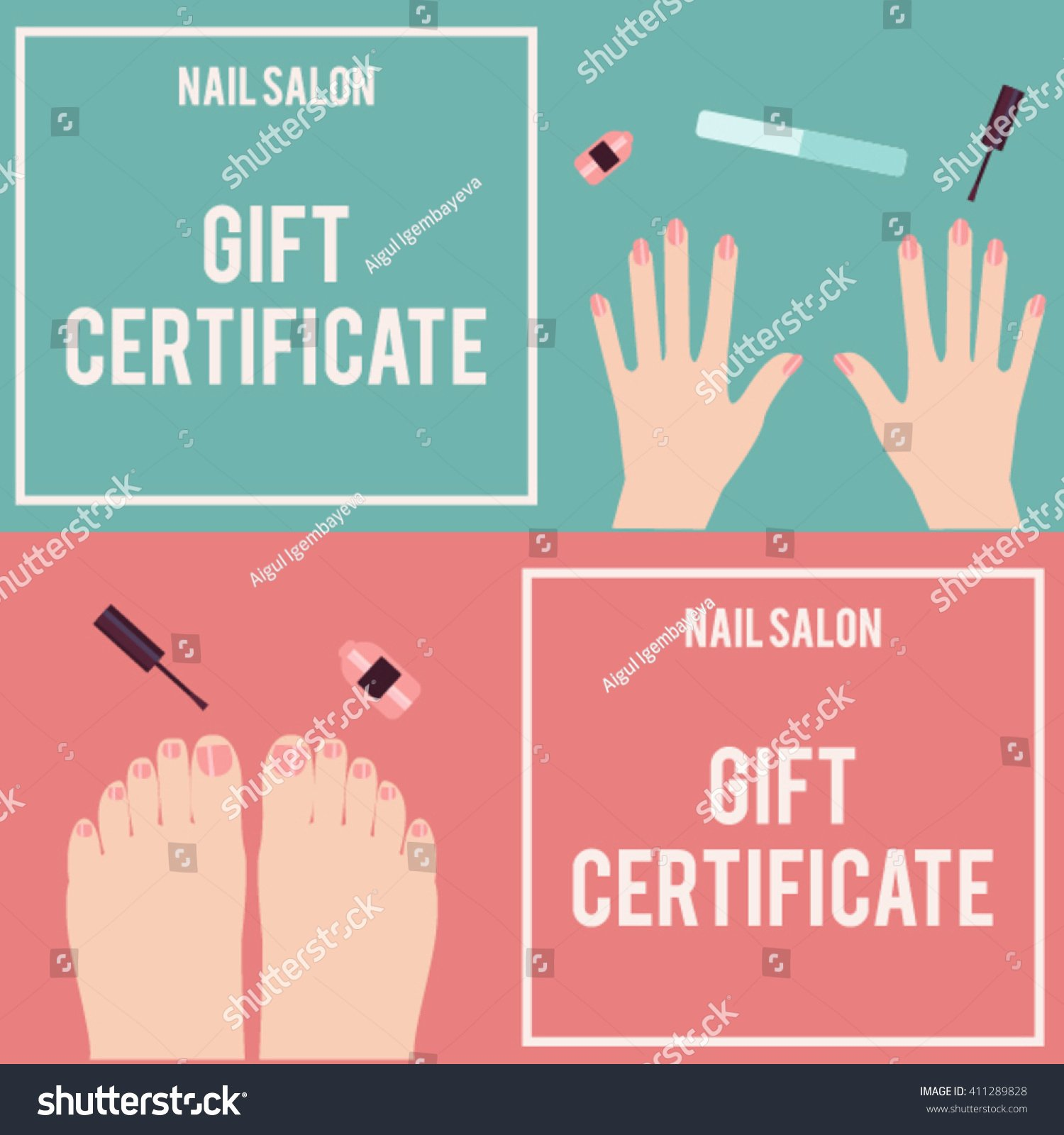 Pedicure Gift Certificate Template Lovely Pedicure Gift Certificate Template