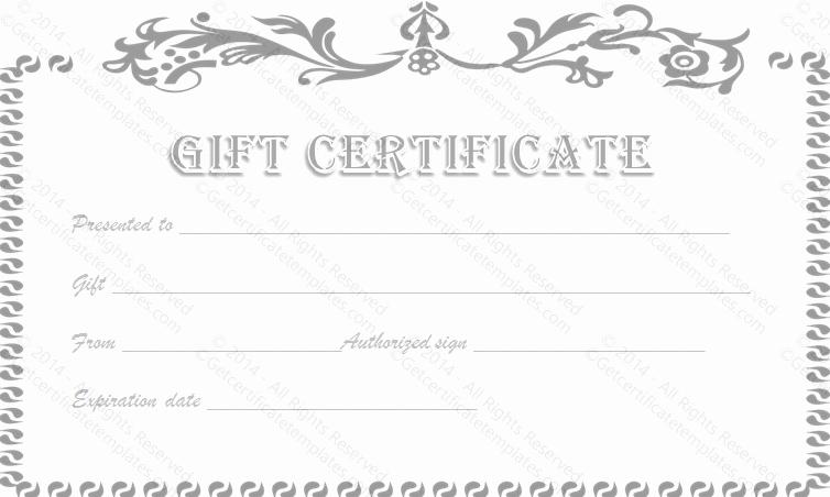 mani pedi t certificate template