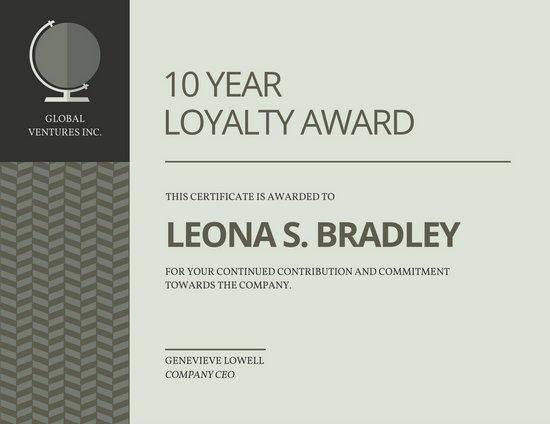 Perfect attendance Award Speech Awesome Customize 534 Award Certificate Templates Online Canva