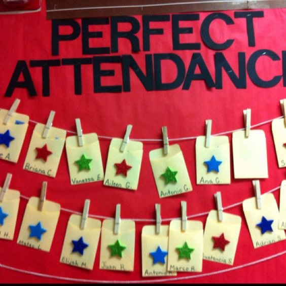 Perfect attendance Award Speech Unique Great Idea for Perfect attendance