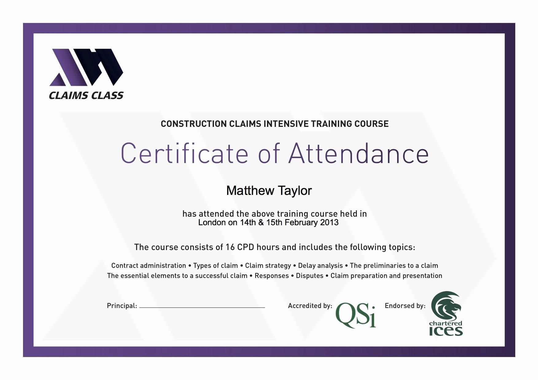 Perfect attendance Certificate Editable Awesome Certificate Of attendance Templates
