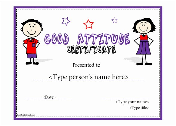 Perfect attendance Certificate Free Template Luxury 11 attendance Certificate Template Free Download