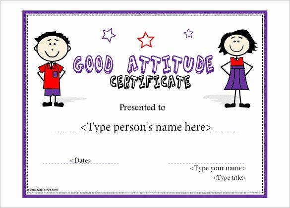Perfect attendance Certificate Pdf Inspirational 11 attendance Certificate Template Free Download
