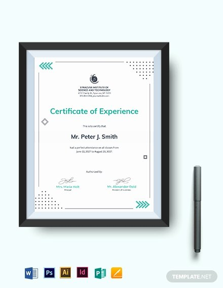 Perfect attendance Certificate Template Word Beautiful Perfect attendance Certificate Template Download 333