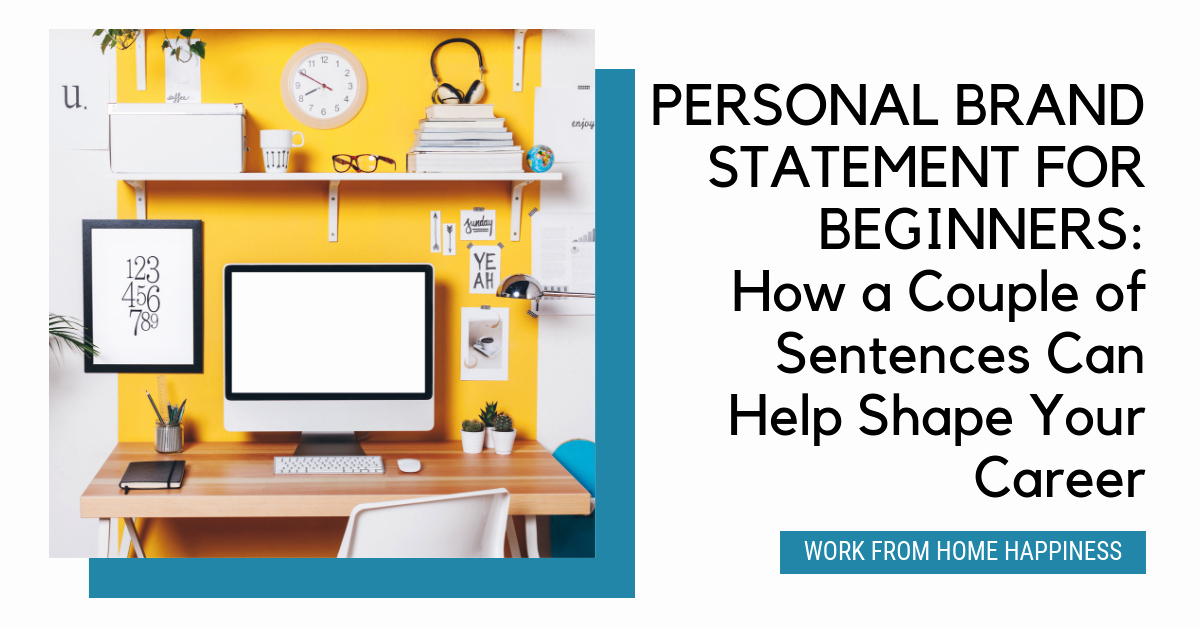 Personal Brand Statement Elegant Personal Brand Statement How A Couple Sentences Can