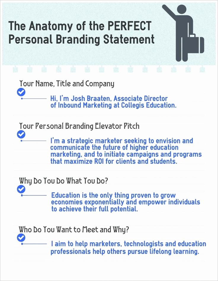 Personal Brand Statement Example Best Of 118 Best Give Yourself A Brand Images On Pinterest