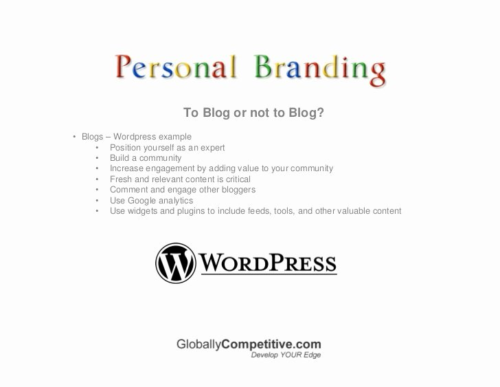 Personal Brand Statement Example Luxury Personal Branding Using social Media