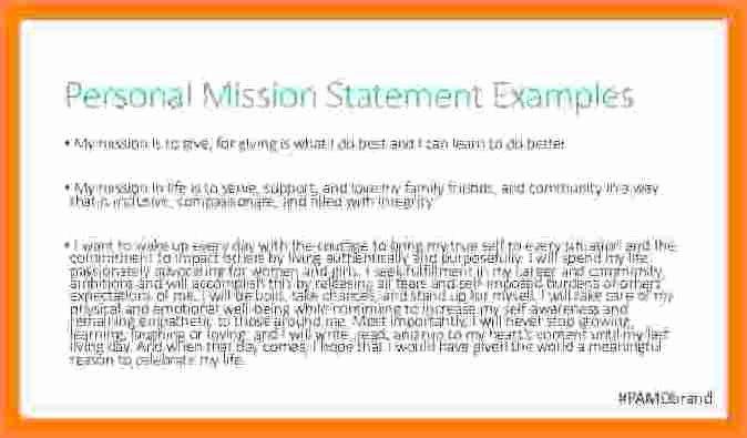 Personal Brand Statement Sample Elegant 5 Personal Brand Statement Examples