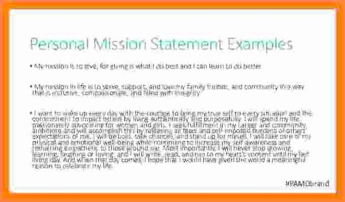 5 personal brand statement examples