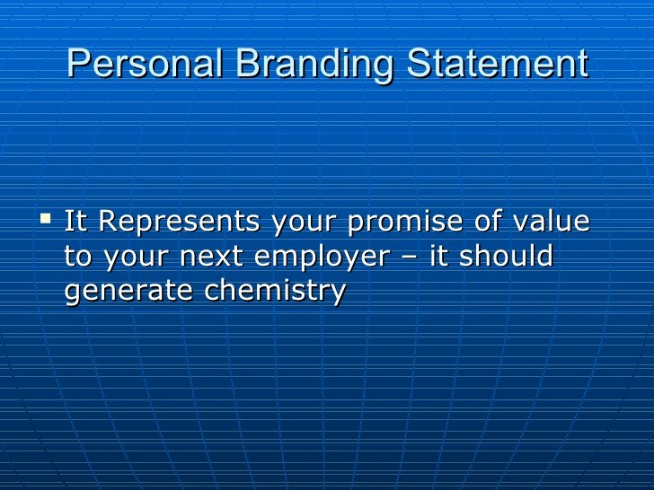 Personal Branding Statement Lovely Developing Your Branding Statement