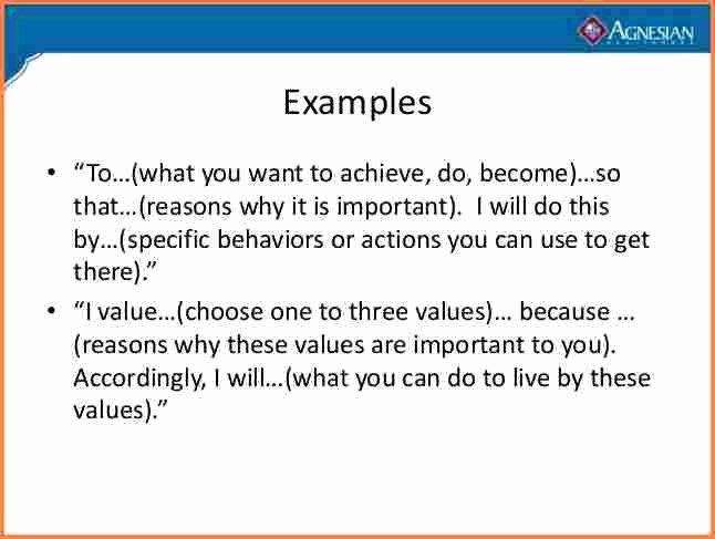 Personal Branding Statement Samples Elegant 2 Sample Personal Mission Statement