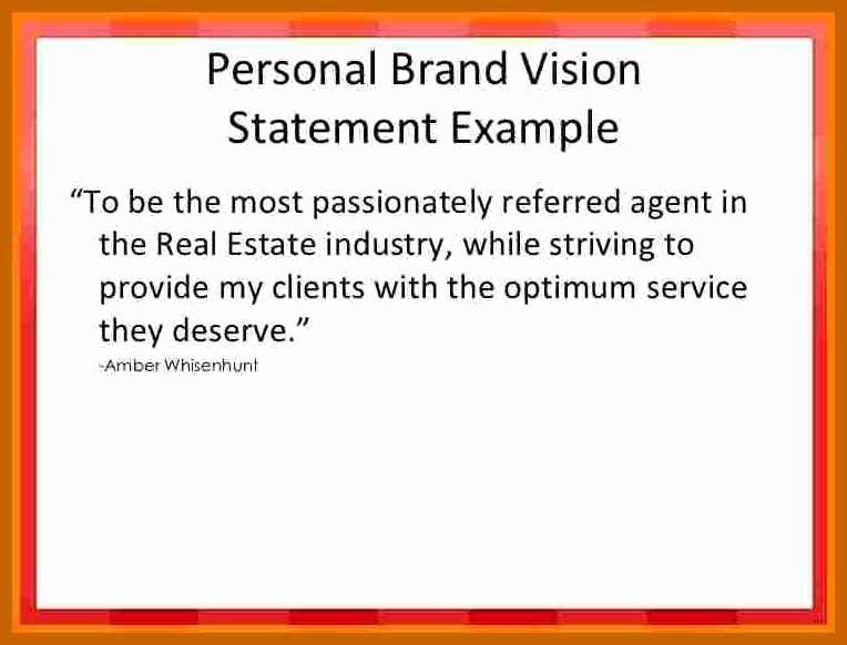 Personal Branding Statements Examples Elegant 3 4 Personal Branding Statement Examples