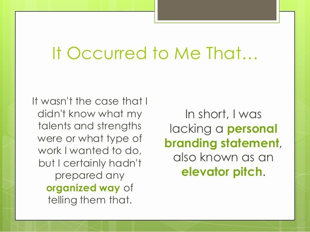 Personal Branding Statements Inspirational How to Create A Strong Personal Branding Statement