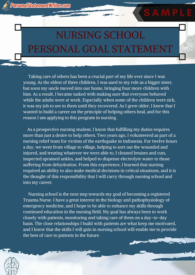 Personal Goal Statement format Elegant Personal Statement Essay Examples for Phd Masters and More