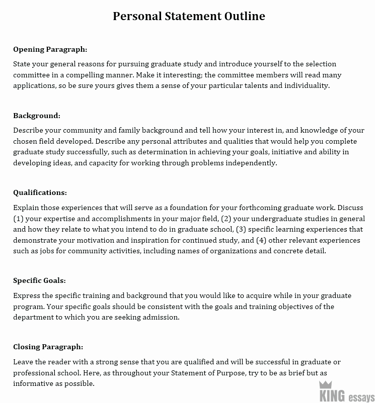 Personal Goal Statement format New How to Write A Personal Statement format and Examples