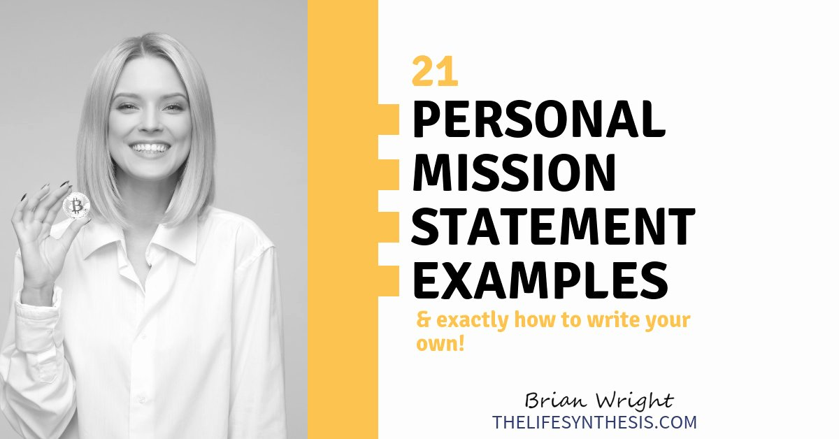 Personal Mission Statement Templates Unique 21 Personal Mission Statement Examples and How to Make