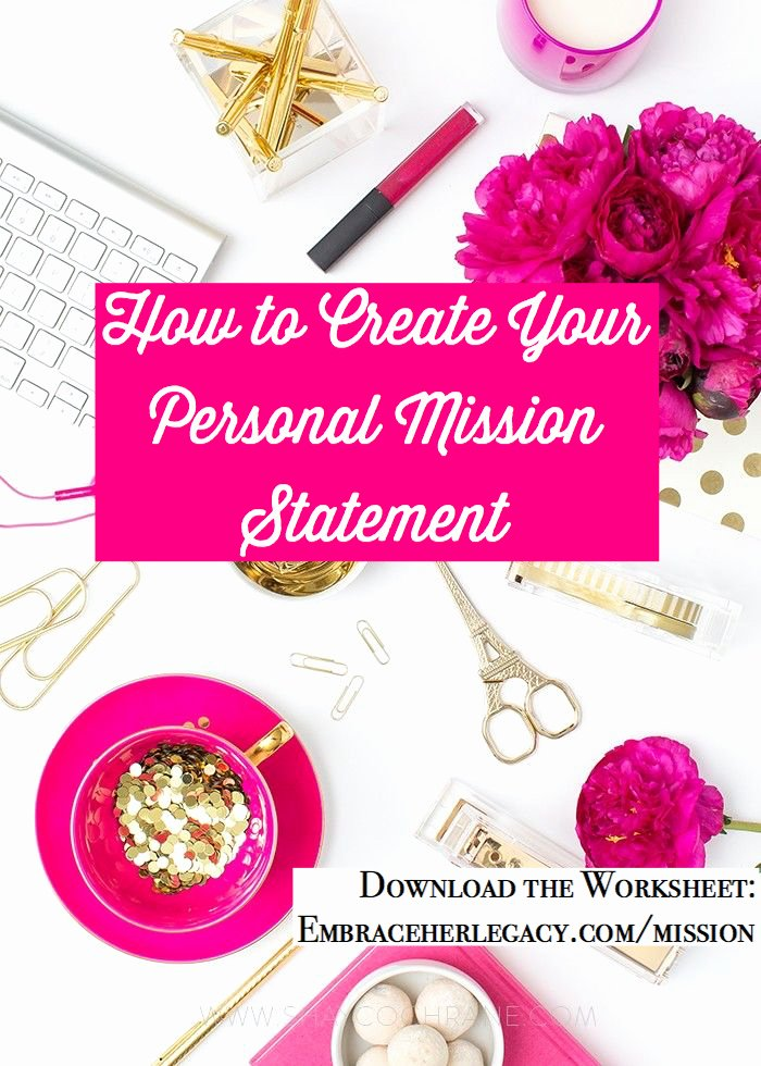 Personal Mission Statement Worksheet Elegant Your Personal Mission Statement Worksheet
