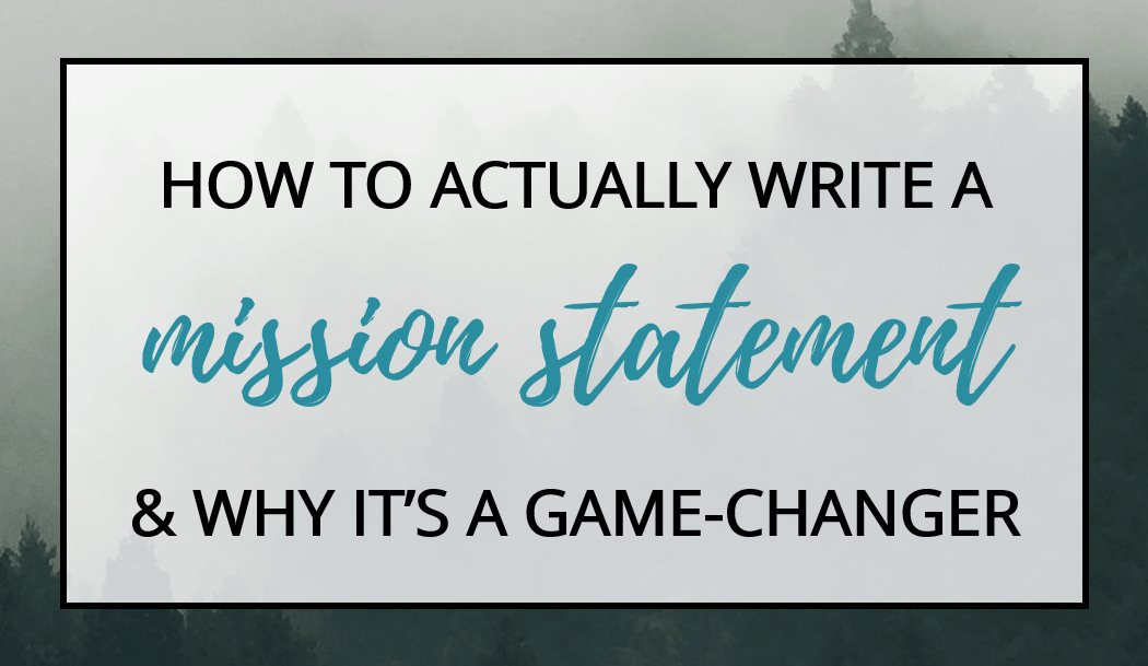 Personal Mission Statement Worksheet Fresh How to Actually Write A Mission Statement & why It S A