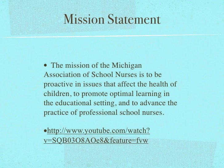 Personal Nursing Mission Statements Lovely School Nursing Powerpoint Rough Draft