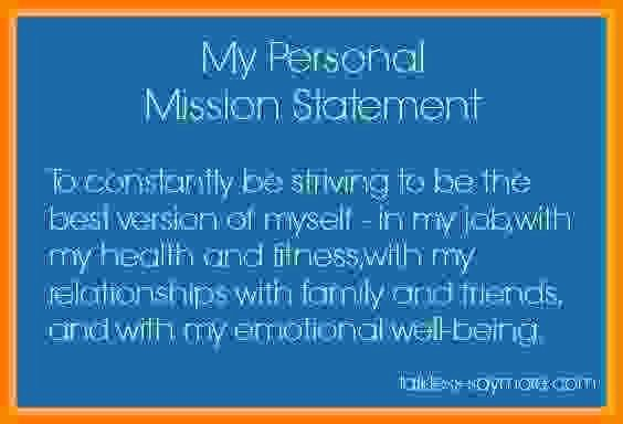 Personal Nursing Mission Statements New 4 Personal Mission Statement Examples for Students