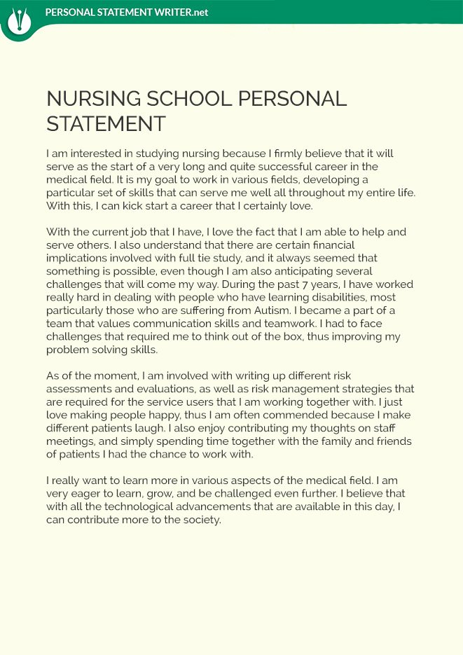 Personal Nursing Mission Statements New How to Write Personal Statement for Medical School