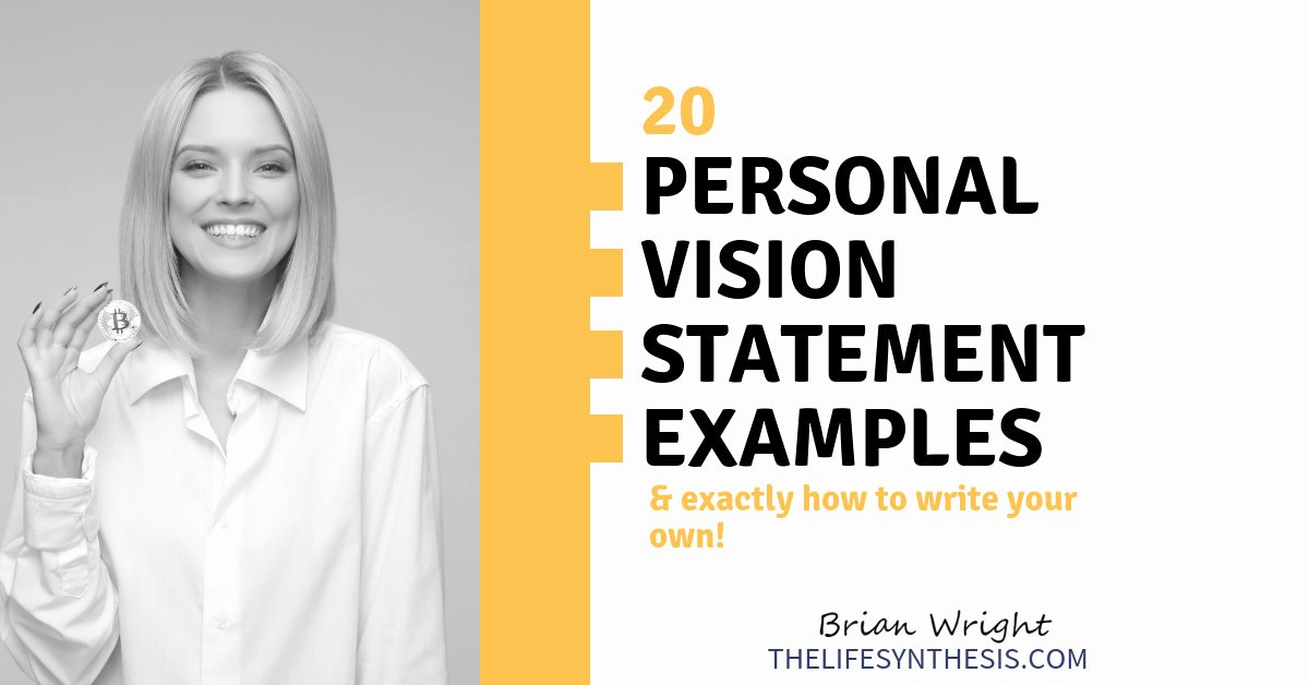 Personal Professional Vision Statement Examples Best Of Personal Vision Statement Examples 7 Impactful Models