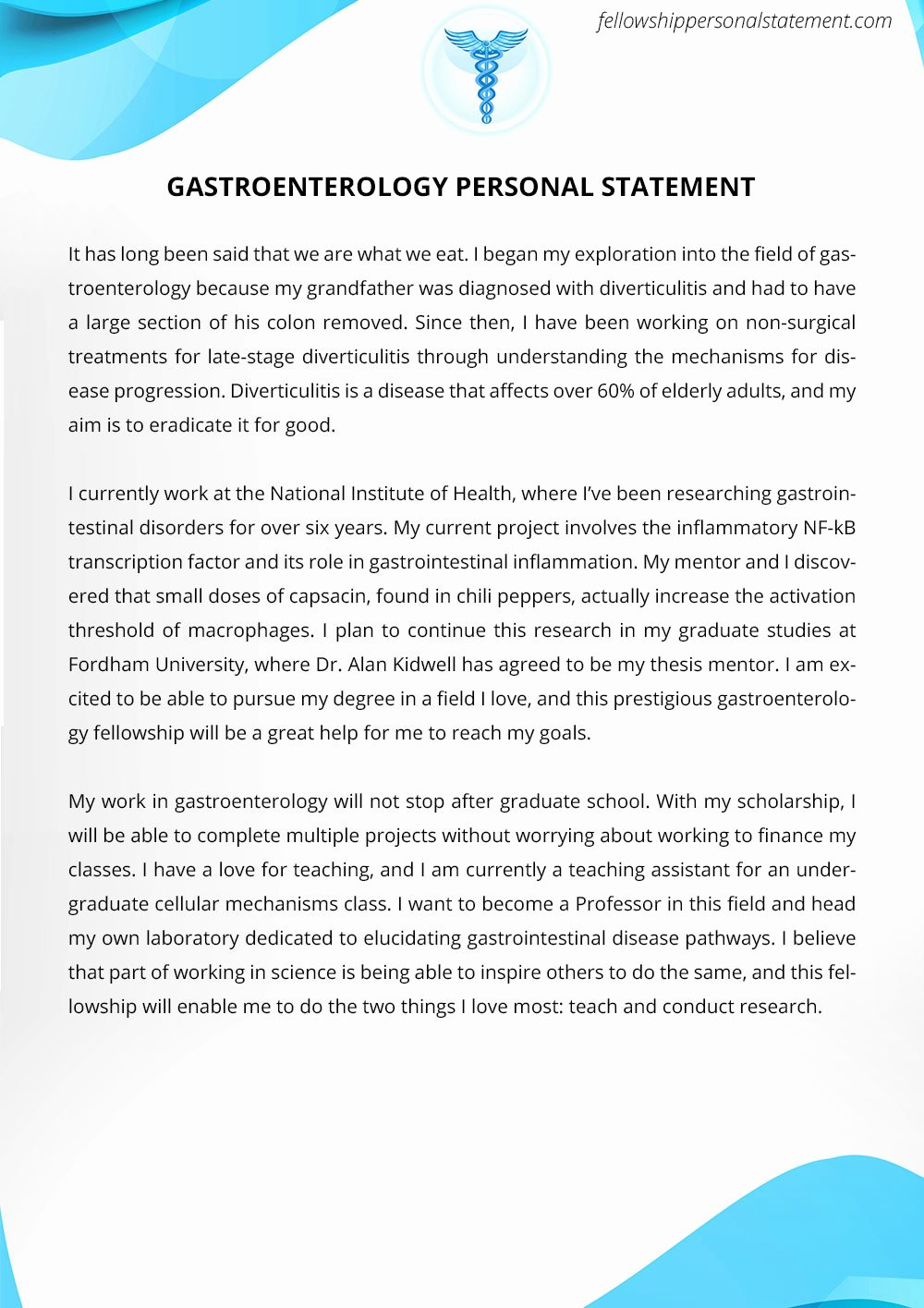 Personal Statement for Fellowship Luxury Powerful and Unique Personal Statement for Fellowship Sample