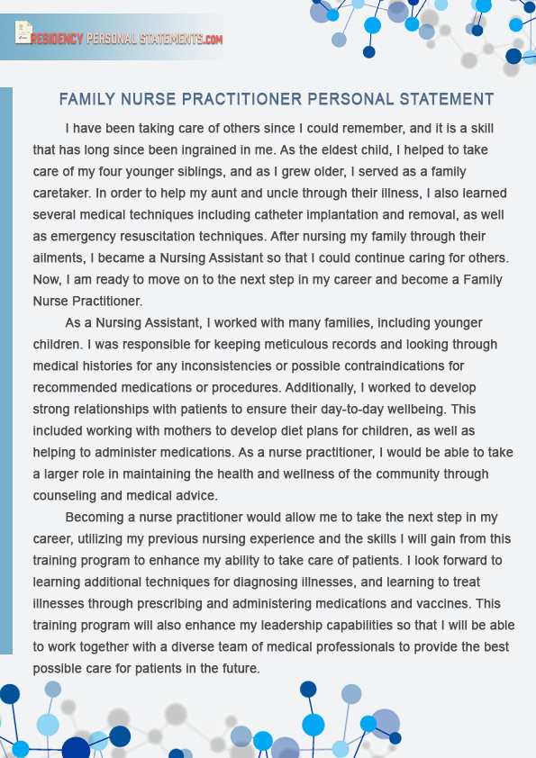 Personal Statement for Nursing School Unique Nurse Practitioner Personal Statement for All Nurse